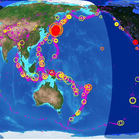 eclipse earthquake monitoring - Earthquake Monitoring